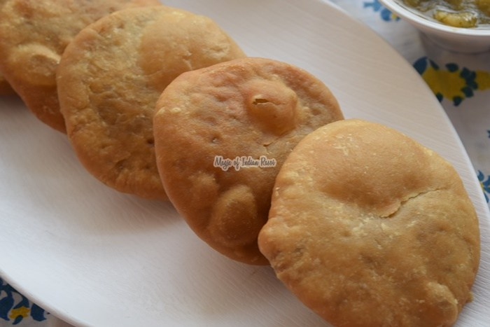 Khasta-Kachori-with-Moong-Dal-Besan-Magic-of-Indian-Rasoi-Priya R