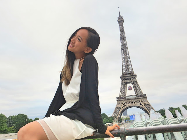 Paris Eiffel Tower, Miss Happy Feet, Vivian Lee