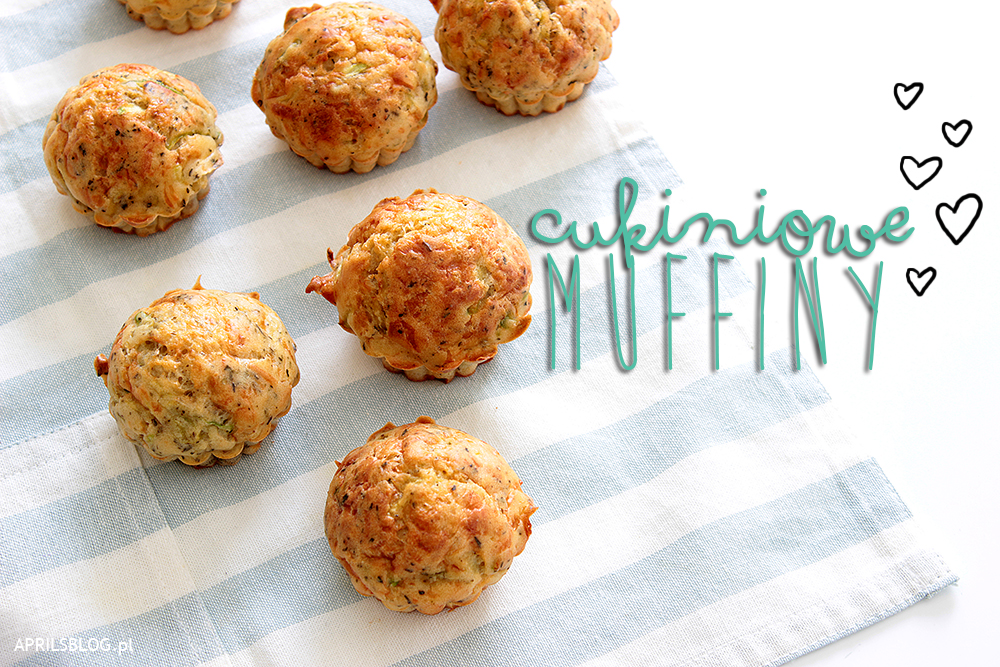 wytrawne muffinki z cukinią