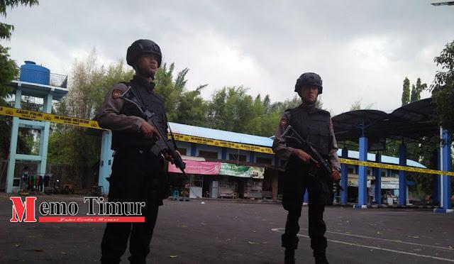 Tas diduga berisi bom ditemukan di Terminal Minak Koncar