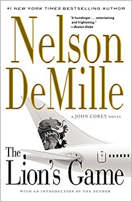 The Lion's Game by Nelson DeMille (Book cover)