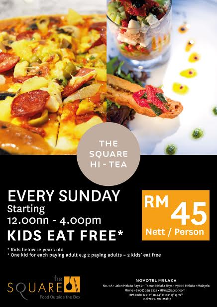 Chasing food dreams dining at the square at novotel melaka the square hi tea forumfinder Choice Image