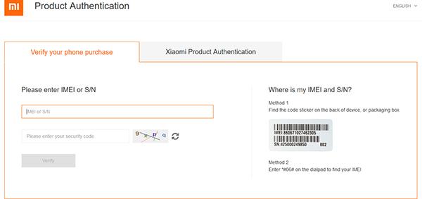 Produk Authentication