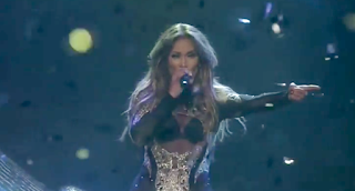 Jennifer Lopez New Years 2016-17 Performance Video