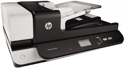 Fifty 5 at Amazon is a file scanner that involves both a flatbed in addition to an automated repor HP Scanjet 7500 Driver Download