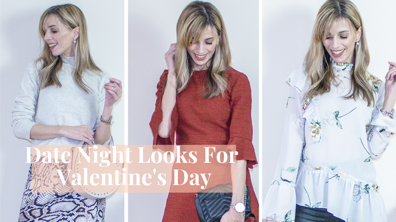 3 Date Night Outfit Ideas For Valentine's Day