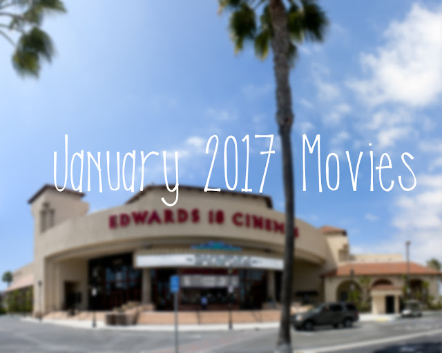 Courtney Tomesch January 2017 Movies