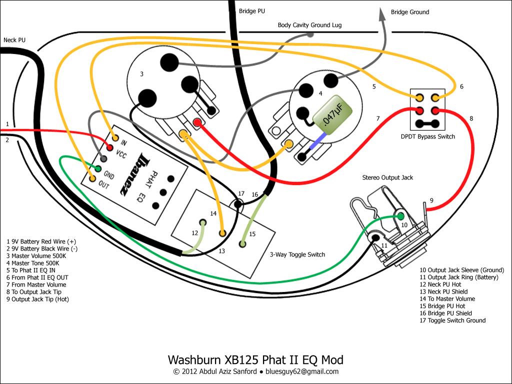 wiring diagram for washburn guitar free download wiring diagram rh xwiaw us Guitar Wiring Diagrams 2 Pickups Guitar Wiring Diagram Two Humbuckers