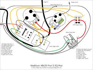 ca gear blog washburn xb125 wiring diagram. Black Bedroom Furniture Sets. Home Design Ideas