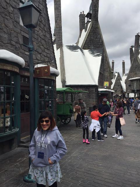 décors Harry Potter Universal Studios Hollywood