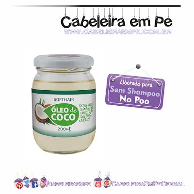 Composição Óleo de Coco - Soft Hair - No Poo