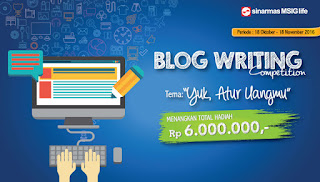 Blog Competition Sinar Mas MSIG Life