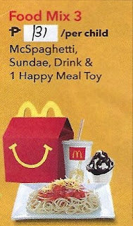 McDo Birthday Party Food Mix 3 price for 2019