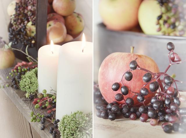 Herbstdeko im Landhausstil zum Selbermachen