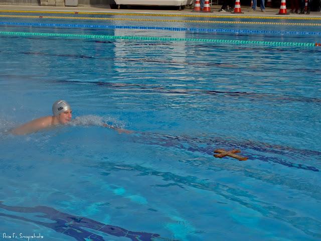 Αγιασμός των υδάτων στο Δημοτικό Κολυμβητήριο Τούμπας