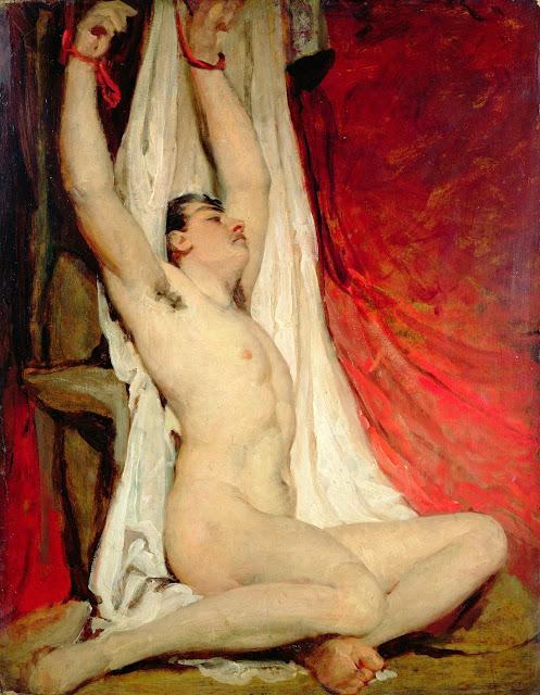 Willliam Etty - Uomo legato - arte - dipinti