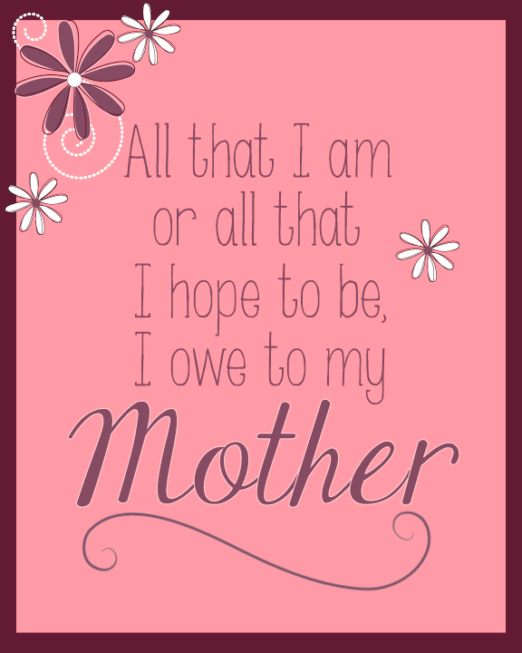 Happy Bday Mom Quotes: Mother Birthday Quotes. QuotesGram