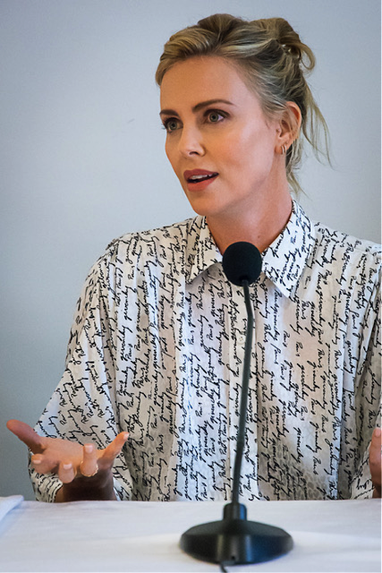 Charlize Theron Tully Interview
