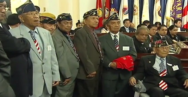 US Senate approves Congressional Gold Medal bill for Filipino & Filipino-American WWII veterans.