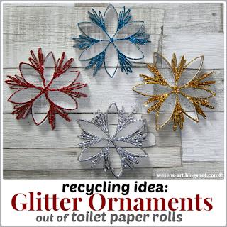 GlitterOrnaments wesens-art.blogspot.com