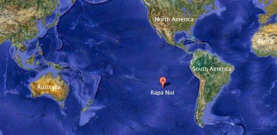 ilha de páscoa mapa