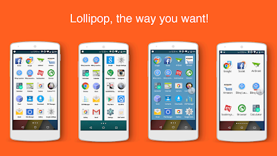 Lollipop Launcher Plus Full Cracked