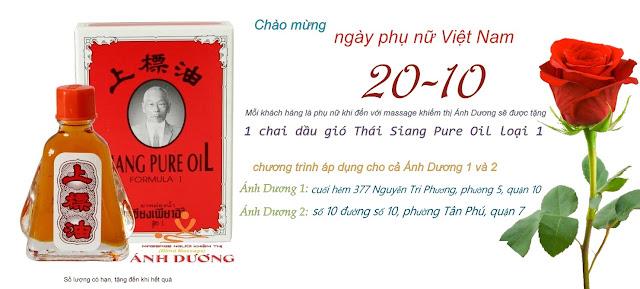 tang qua massage