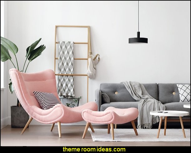 modern Nordic Style Living Room Furniture Pink   Blush pink decorating - blush pink decor - blush and gold decor - blush pink and gold bedroom decor -  blush pink gold baby girl nursery furniture - blush art prints - rose gold bedroom decor -  blush black bedroom decor - blush mint green decor - Blush Black Gold Glitter home decor - Blush Pink furniture - marble murals