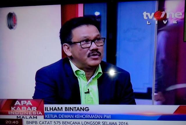 Ilham Bintang: NU Yogyakarta Cemarkan Nama Baik ILC TVOne