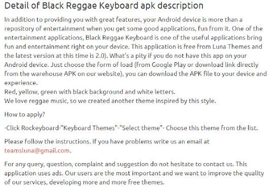 Black Reggae Keyboard 2.0 apk | APKs 4 Fun-Download Android Apps, Games, Apks and Much More