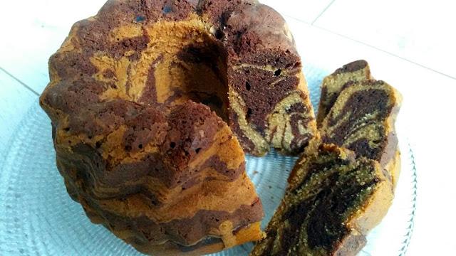 gâteau marbré 2