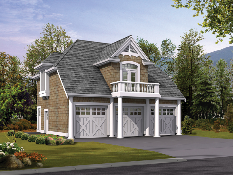 Garages with Flat Floor Plans