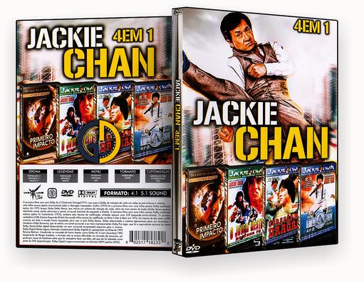 Coleção – – Jackie Chan – 4 em 1 – Vol.2 (2018) – ISO