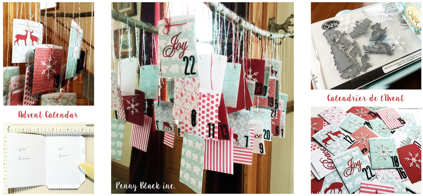 Tuto Calendrier De Lavent Scrapbooking.Art Scrap More Alexandra S Sunday Scrapbooking Advent