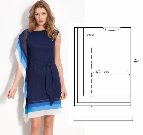 Como hacer un vestido para dama sencillo