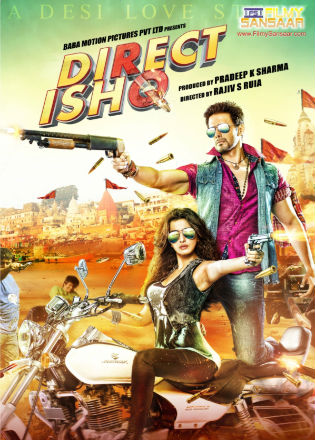 Poster of Direct Ishq (2016) Full Hindi Movie Download DVDRip 720p