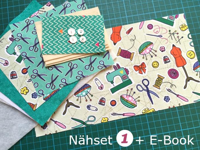 "Nähset 1 + E-Book ""Nadelbuch"""