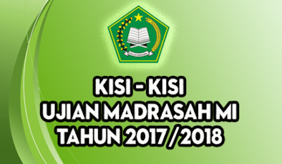 Kisi Kisi UAMBN MI, MTS, MA 2018