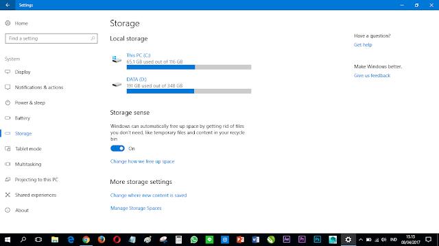 Fitur-Fitur Terbaru di Windows 10 Creators Update