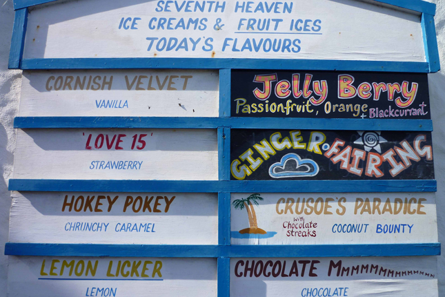 Delicious ice cream at Roskilly's farm