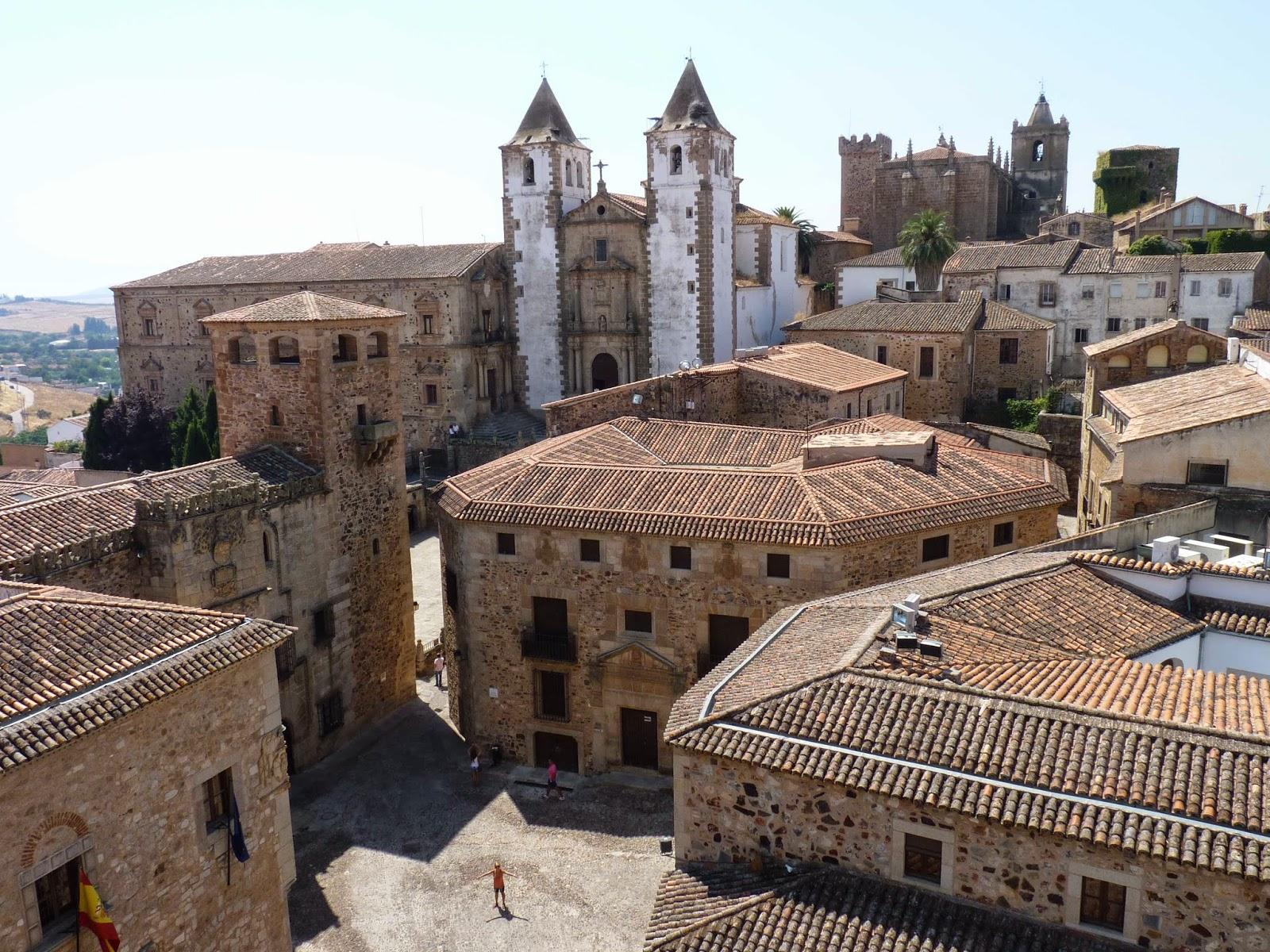 Cáceres, desde la torre de la Concatedral.