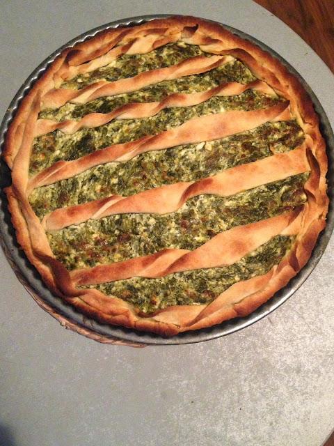 Пай-със-спанак-и-извара-Spinach-pie