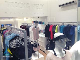 projeto loja moda esporte mobiliário
