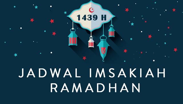 Jadwal Imsakiyah Ramadhan 1439 H/ 2018 Wilayah Denpasar Bali