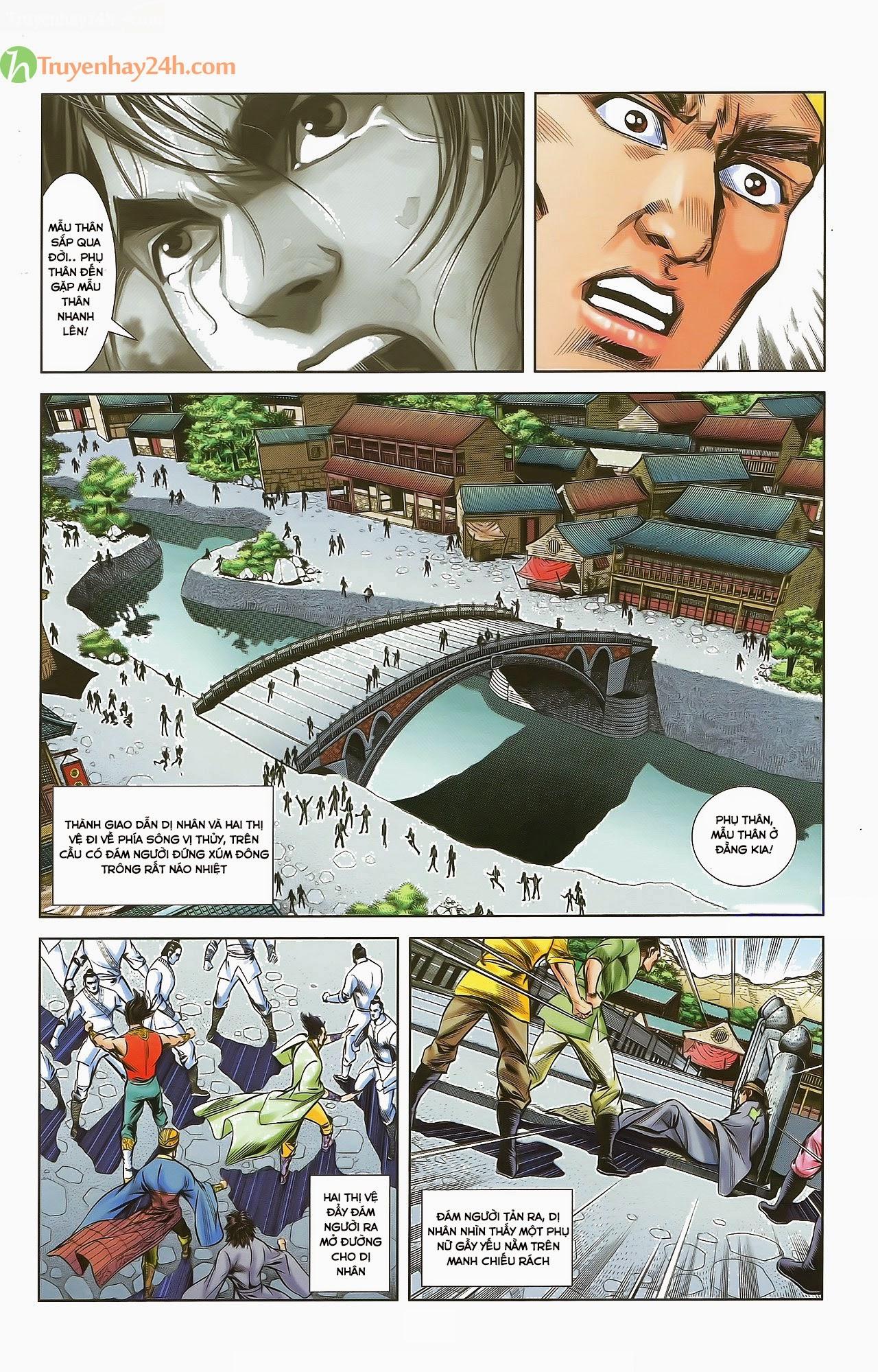 Tần Vương Doanh Chính chapter 29.2 trang 6