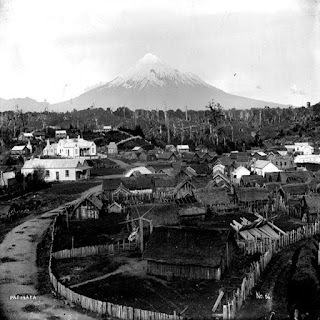 Parihaka Settlement as it once was
