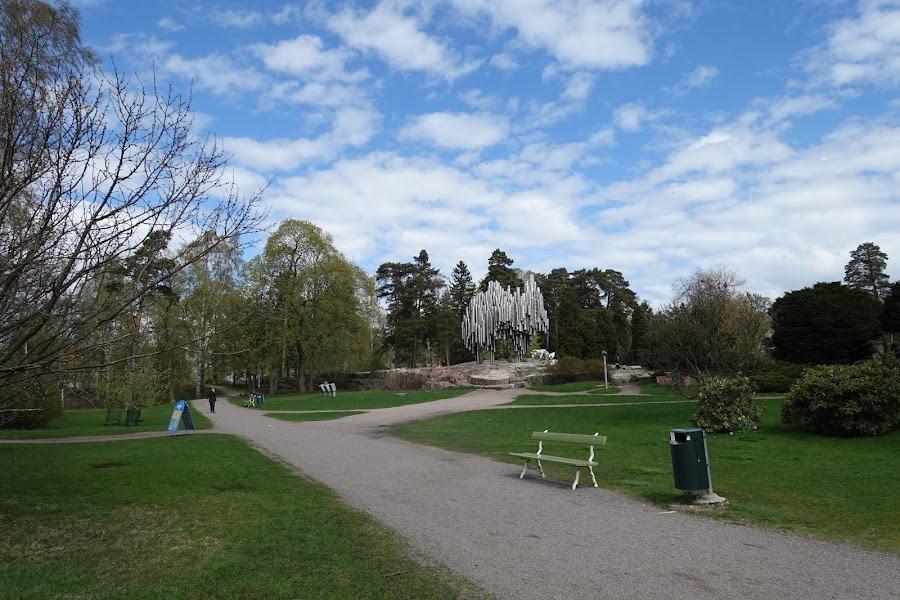 シベリウス公園(Sibeliuksen puisto)