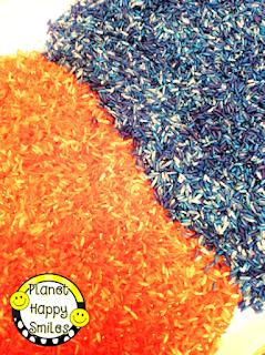 Planet Happy Smiles ~ Colored Rice