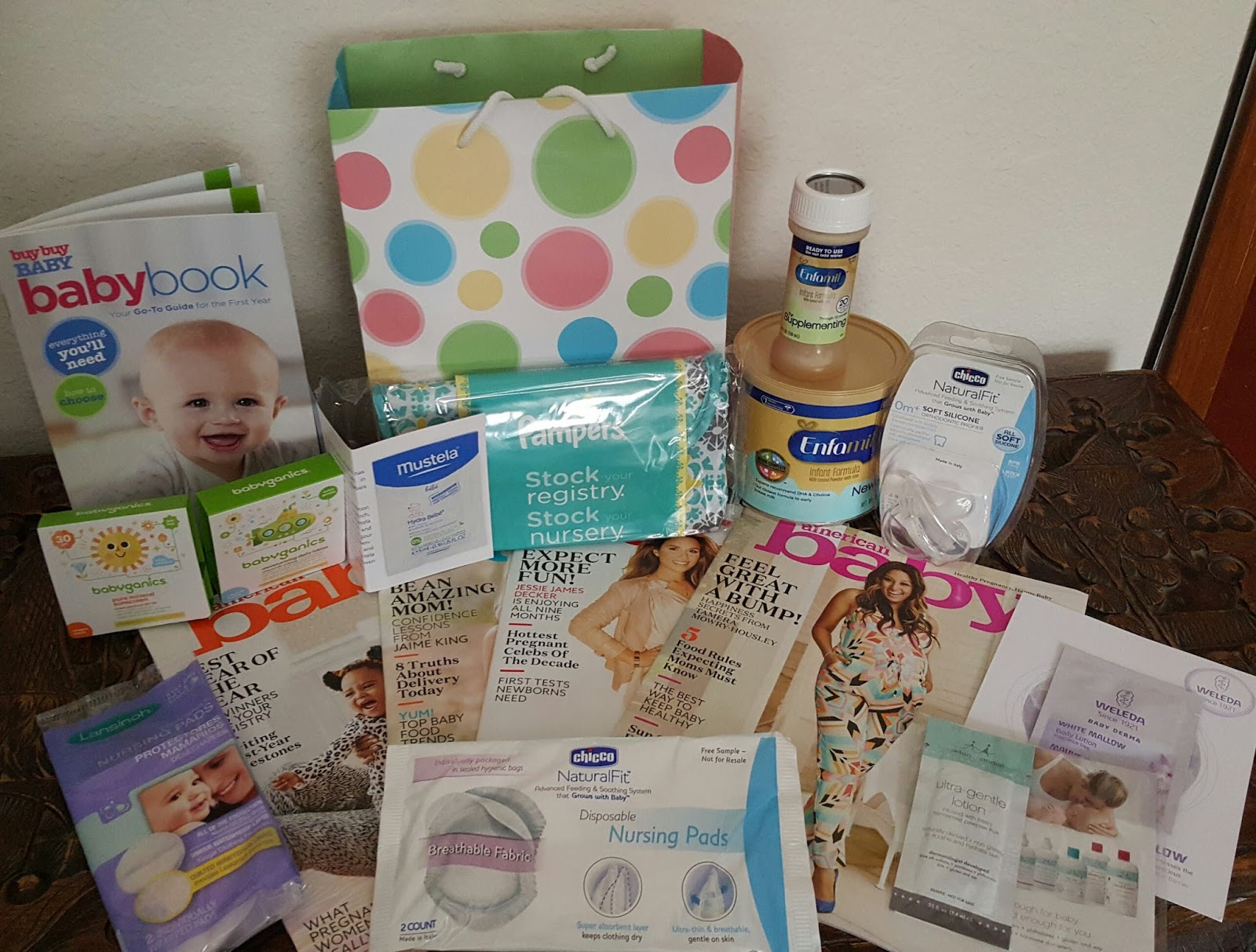First Up Is A K In To The Baby Gift Bag