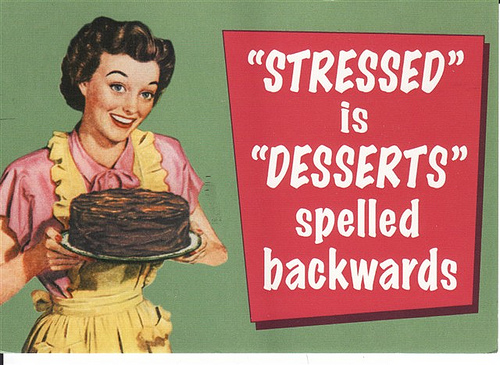 UKAgStudents: Don't Obsess with the Stress